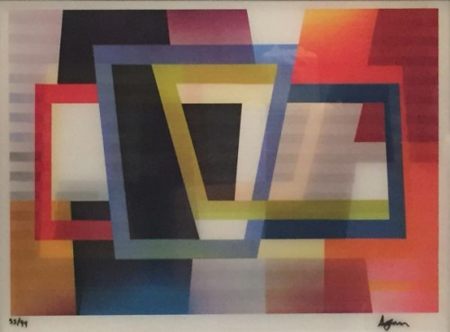Becoming Abc by Yaacov Agam