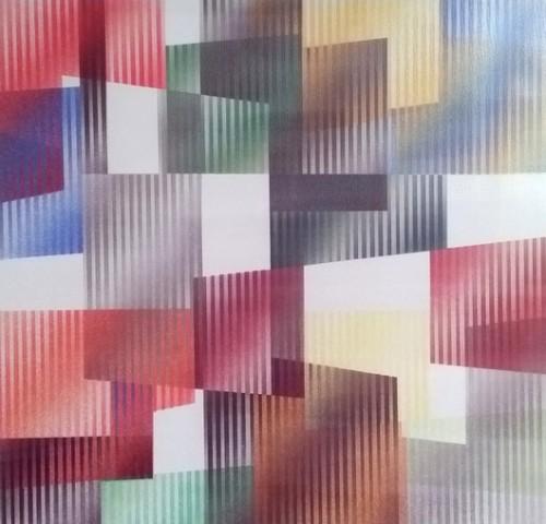 Geometric 3 Agam by Yaacov Agam