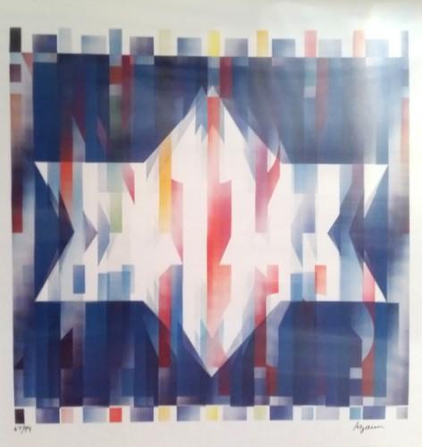 Geometric 5 Agam by Yaacov Agam