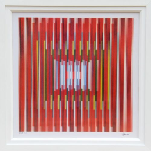 In Deep Prayer by Yaacov Agam