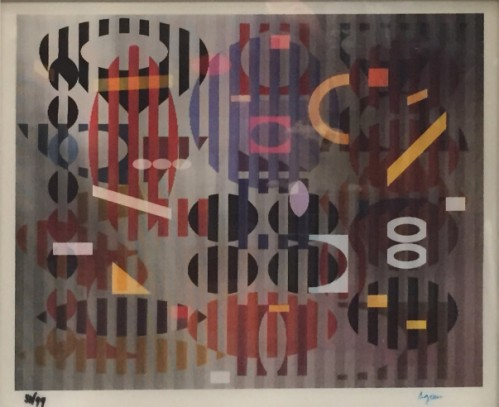 Ps Out Of Dark by Yaacov Agam