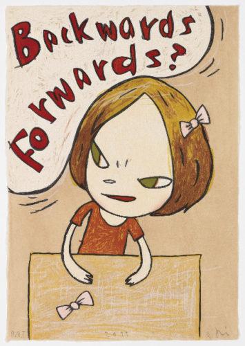 Backwards Forwards by Yoshitomo Nara at