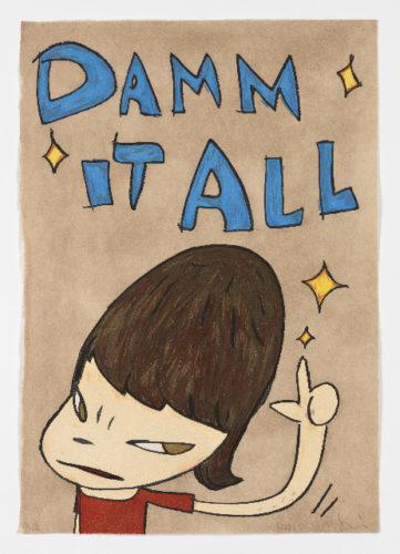 Damm It All by Yoshitomo Nara