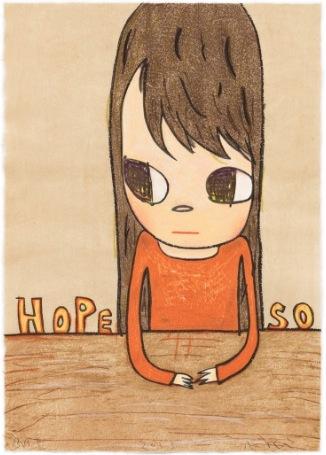 Hope So by Yoshitomo Nara at