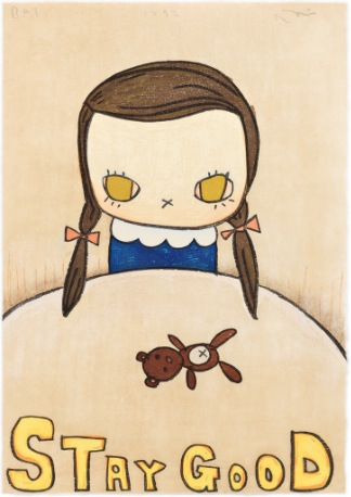 Stay Good by Yoshitomo Nara at