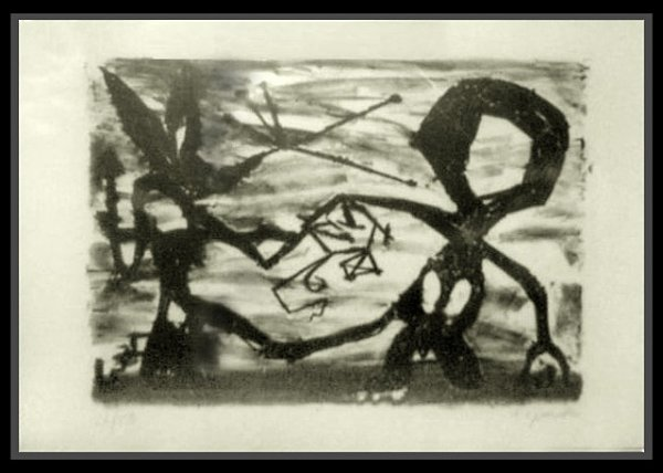 Idea For Sculpture #3 by A.R. Penck at
