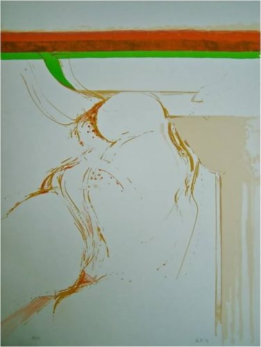 Untitled/part Of The Rothko Portfolio. by Adrian Heath at