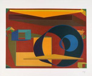 Pradorama by Al Held at
