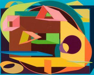 Scholes Ii by Al Held at Michael Lisi/Contemporary Art
