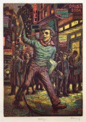 Wuxtry! by Albert Abramovitz at Harris Schrank Fine Prints (IFPDA)
