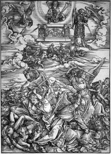 Die Sieben Posaunenengel (seven Angels W/ Trumpets by Albrecht Durer at R. S. Johnson Fine Art (IFPDA)