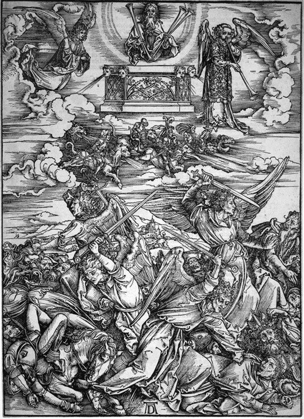 Die Sieben Posaunenengel (seven Angels W/ Trumpets by Albrecht Durer