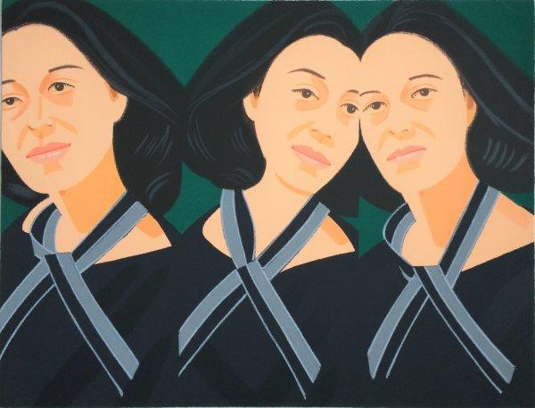 Grey Ribbon by Alex Katz