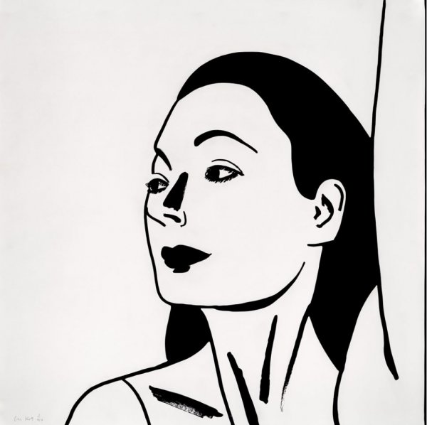 Laura 2 by Alex Katz