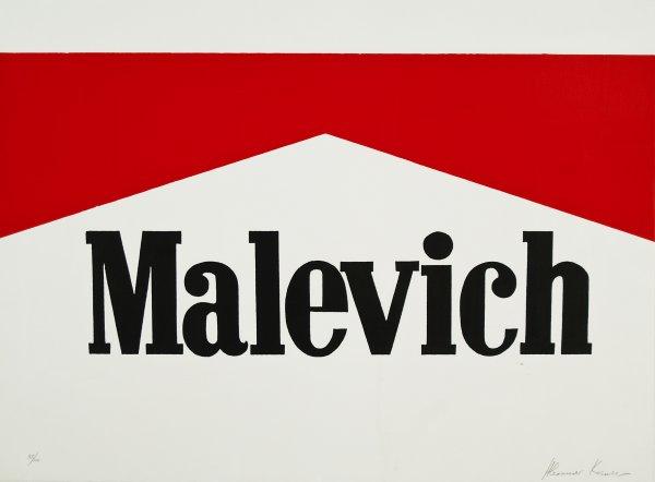 Malevich by Alexander Kosolapov
