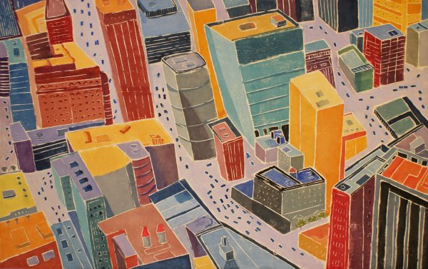 City Intersections by Aline Feldman