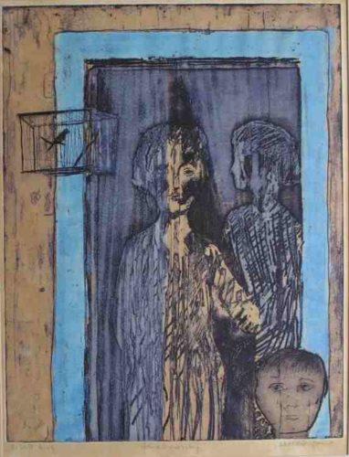 The Blue Doorway by Alistair Grant