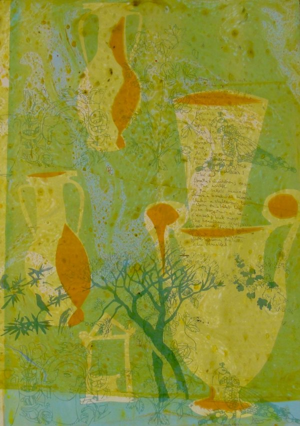 Dream Vessels (spring) by Amanda Danicic