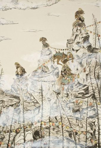 Widows Peak by Amy Cutler