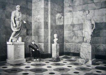 Antonius Pius, Youth And Caryatid-Hermitage Museum by Andy Freeberg at Center Street Studio