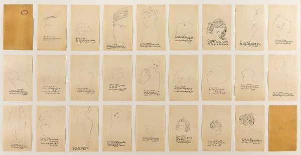 A Is An Alphabet by Andy Warhol