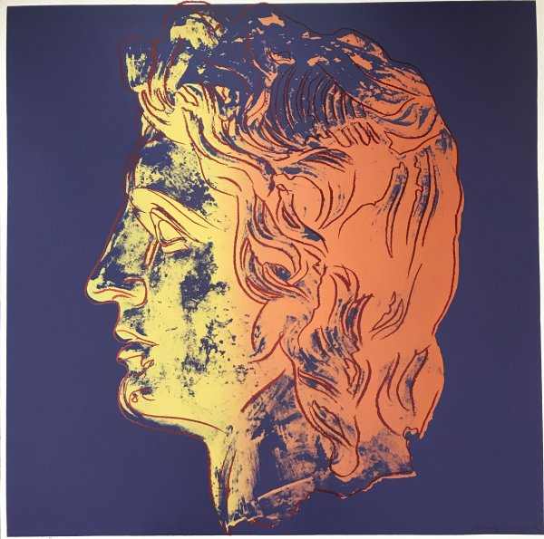 Alexander The Great, F&s Iib.291-292 Unique Tp by Andy Warhol