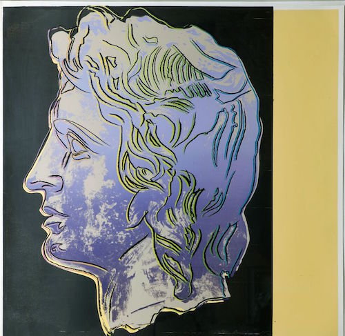 Alexander The Great, Trial Print Iib.291 by Andy Warhol