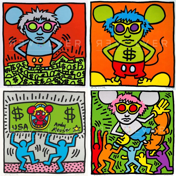 Andy Mouse Complete Portfolio by Andy Warhol