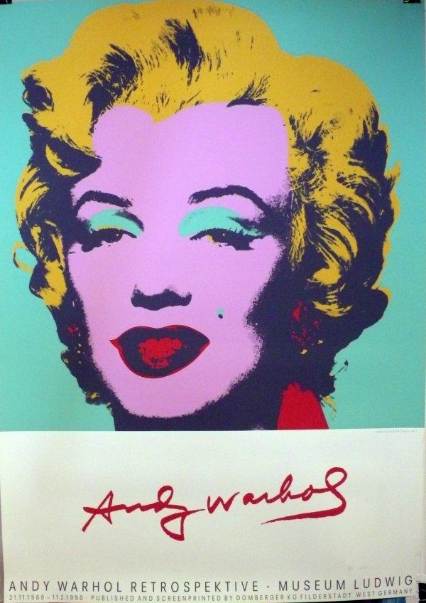Andy Warhol Retrospektive-museum Ludwig, 1989 by Andy Warhol (after)