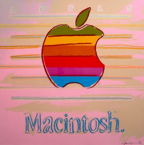 Apple Macintosh Fs Ii.359 by Andy Warhol at Andy Warhol