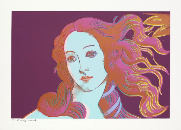 Birth Of Venus Fs#317 by Andy Warhol
