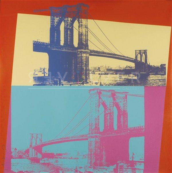 Brooklyn Bridge (fs Ii.290) by Andy Warhol