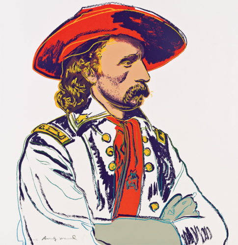 C & I: General Custer by Andy Warhol