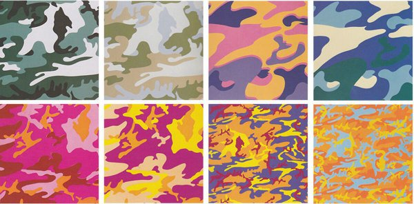 Camouflage, Complete Portfolio By Andy Warhol by Andy Warhol