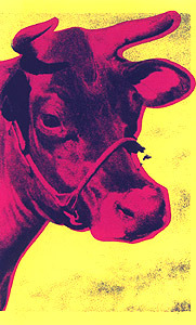 Cow Fs# 11 by Andy Warhol
