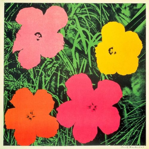 Flowers 1964 by Andy Warhol at Andy Warhol