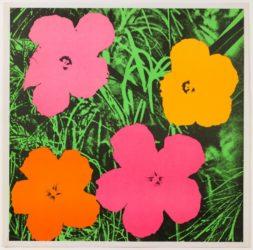 Flowers by Andy Warhol at Susan Sheehan Gallery