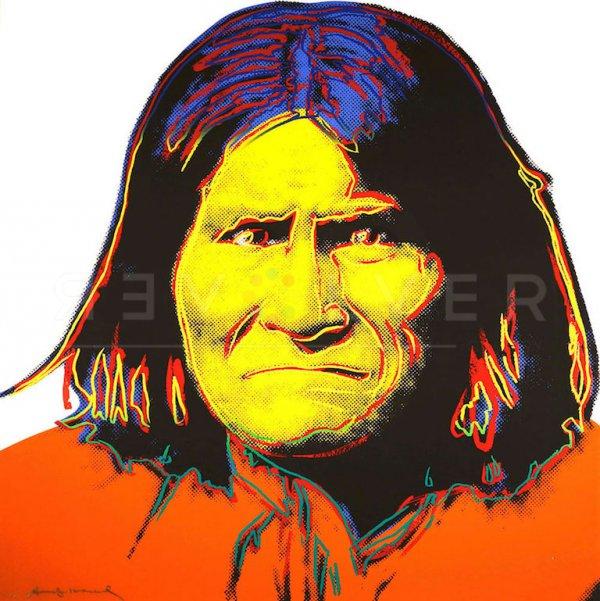 Geronimo (fs Ii.384) by Andy Warhol