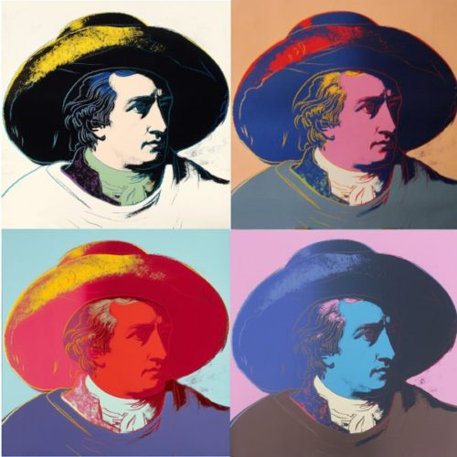 Goethe Portfolio (fs Ii.270 – Fs Ii.273) by Andy Warhol at Andy Warhol