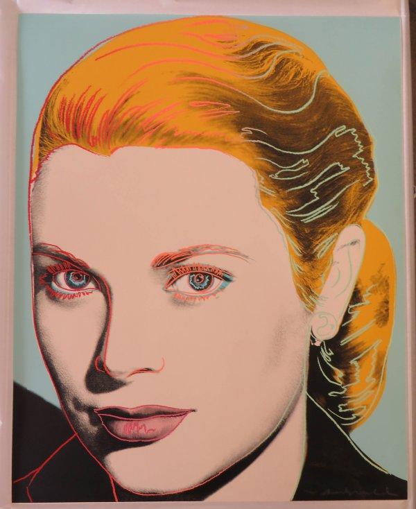 Grace Kelly Fs#305 by Andy Warhol