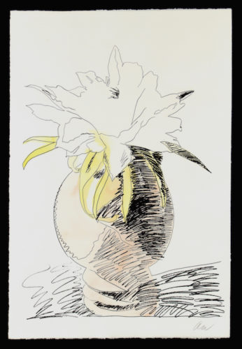 Hand Colored Flowers Iii.114 by Andy Warhol at Andy Warhol