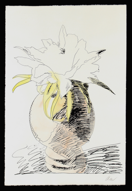 Hand Colored Flowers Iii.114 by Andy Warhol