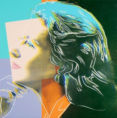 Ingrid Bergman, Herself by Andy Warhol