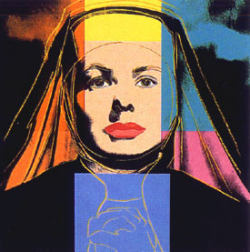 Ingrid The Nun Fs#314 by Andy Warhol