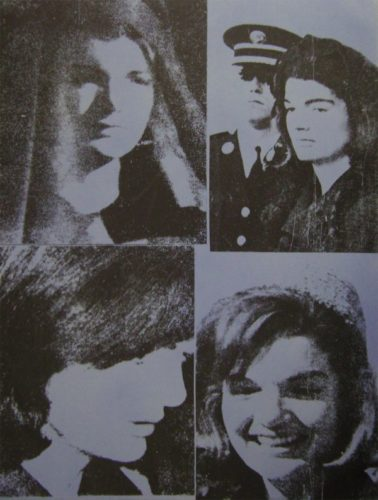 Jacqueline Kennedy III by Andy Warhol at Andy Warhol