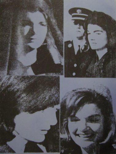 Jacqueline Kennedy III by Andy Warhol
