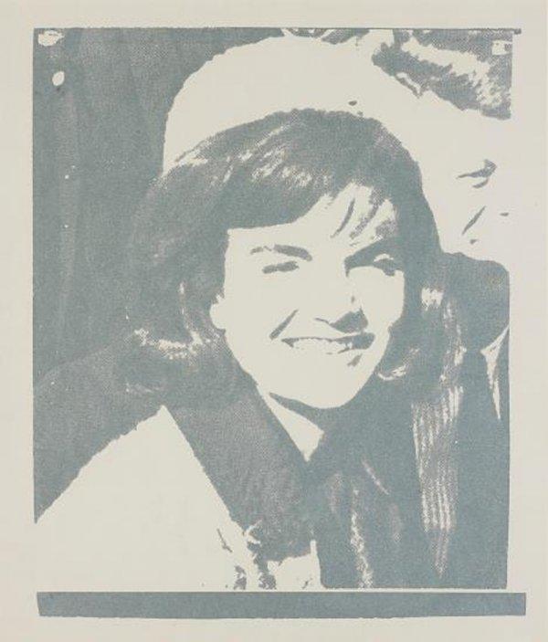 Jacqueline Kennedy I (jackie I) (fs Ii.13) by Andy Warhol