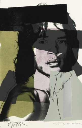 Jagger Ii.145 by Andy Warhol