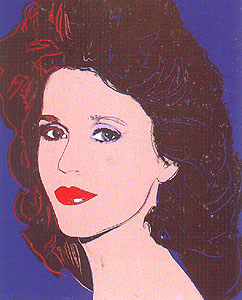 Jane Fonda Fs#268 by Andy Warhol
