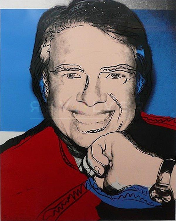 Jimmy Carter Ii (fs Ii.151) By Andy Warhol by Andy Warhol